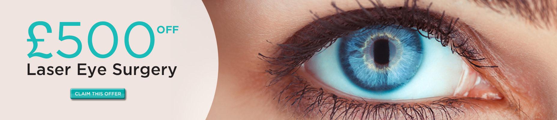 Optilase Laser Eye Surgery Offer